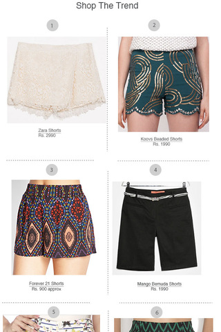 Preview shopping spree shorts june 14