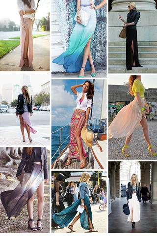 Preview trend alert thigh high skirts  june 14