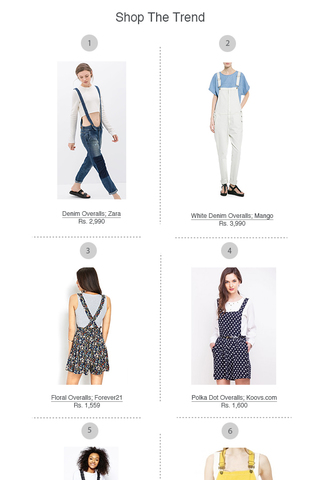 Preview shop the trend overalls july 14