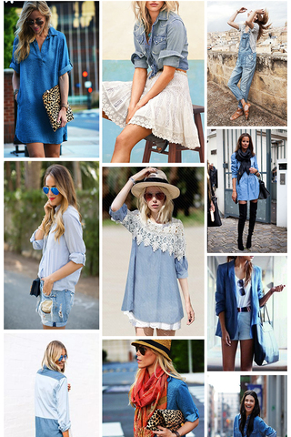Preview shopping spree chambray aug 14