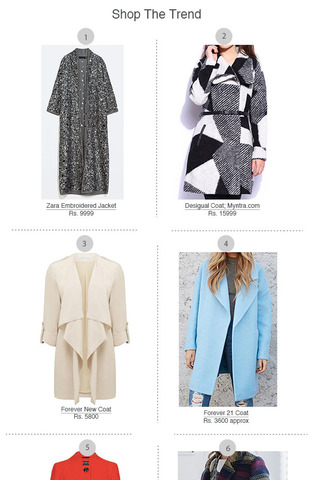 Preview shopping spree coats dec 14