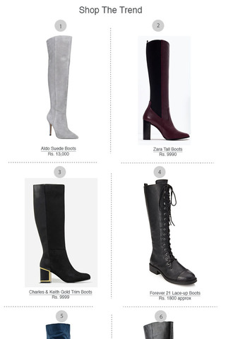 Preview shopping spree knee high boots