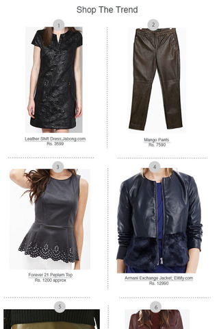 Preview shopping spree leather dec 14