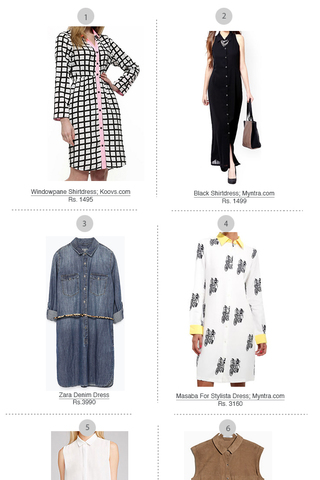 Preview shop the trend shirtdress march 15