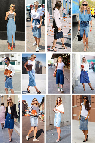 Preview trend alert denim skirt june 15