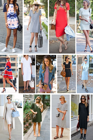 Preview trend alert t shirt dress aug 15
