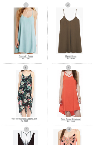 Preview shop the trend slip dress aug 15