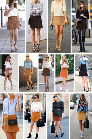 Preview trend alert suede skirt sept 15