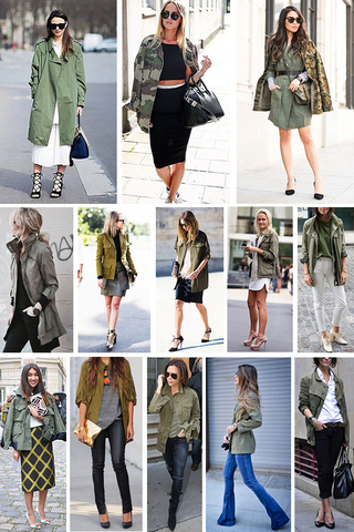 Preview trend alert army jacket oct 15