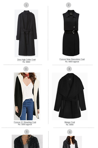 Preview shopping spree black coats nov 15
