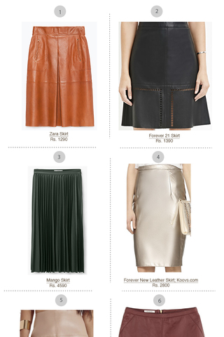 Preview shopping spree leather skirt feb 16