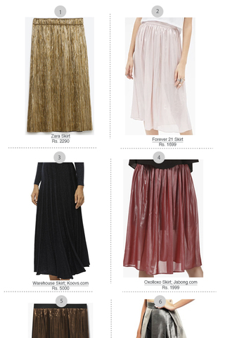 Preview trend alert metallic skirts feb 16