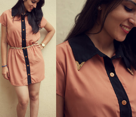 Limit 550 500 studded collar dress 2
