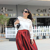 Fill 98 98 fashion trend ladylike full skirt