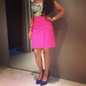 Fit 125 125 pink skirt look