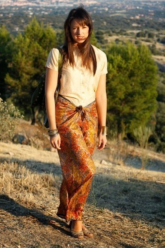 Limit 550 500 sugarlane silk sarong pants indian nehru collar