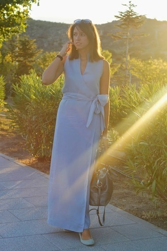 Limit 550 500 sugarlane vintage gown adolfo dominguez lino azul