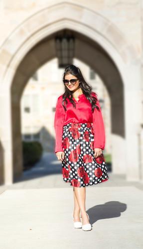 Limit 550 500 loveplayingdressup nehagandhi red floral skirt 6