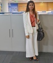 Fit 125 125 kintyish.com indian fashion blog   procetr   gamble   mumbai office visit white cullotes and blazer business suit 1.6