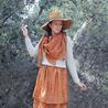 Fill 98 98 sugarlane design mughal autumn orange total silk