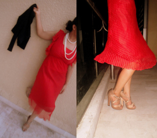 Limit 550 500 style destino   red dress